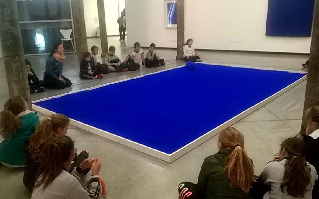 ¡Visitamos a Yves Klein en Fundación Proa!