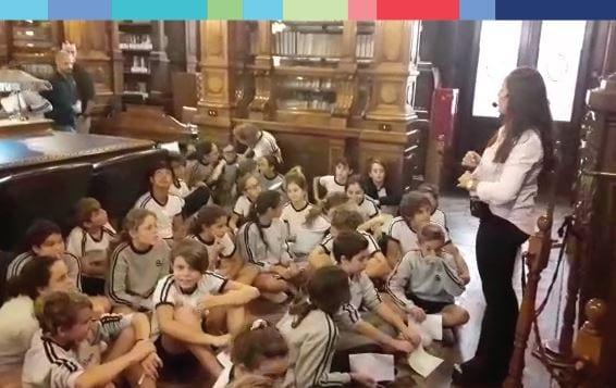 ¡Los alumnos de 7mo grado se preparan para la Promesa de Lealtad a la Constitución Nacional!